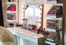 *vanities and make - up storage