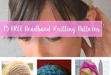 Вязаная headband