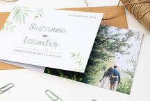 DIY trouwkaarten
