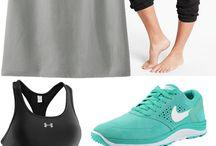 Workout Wardrobe / by Amy Valentine