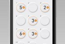 Mobile UI, UX / #App #Interface #UI #UX #design / by Pavel Klein