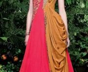 New arrivals - Admyrin Georgette Embroidered Gown / Ready to Wear Beautiful Admyrin festivity Wear Georgette Gown which enhances your beauty and personality! Buy online at nallucollection.com