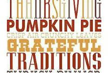 Be Thankful!  Gobble Gobble! / Family traditions start with being thankful for what you have.  Thanksgiving is probably my favorite holiday.  Appreciate those around you...be thankful!