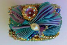 šperky Shibori Ribbon Inspiration