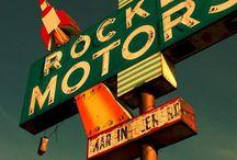 Old School Dealerships & Signage / Old, Vintage and Retro Car Dealerships