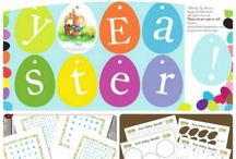 Homeschool - Easter / Ideas to make school fun
