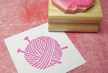 Stamps and cardmaking