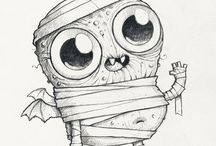 halloweeni rajzok és szinezők kedvetek szerint