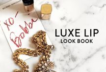 The Luxe Lip Look Book / We asked some of our favorite ladies to show us how they wear their outfit-making shades of #LuxeLip—check out our Luxe Lip Look Book each day for more endless inspo. / by Bobbi Brown
