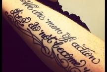 Tats All, Folks / Tattoos and piercings / by Nikki Mitchel