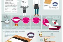 Para tu casa / Cosas interesantes sobre cocina, ahorro, tareas del hogar, decoración... y más!!