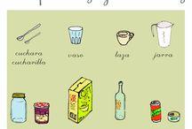 PALABRAS (comida y cocina)