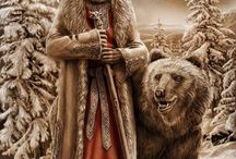 Slavic pagan Russia