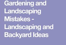 Tips and tricks for landscaping
