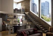 Lofts rooms interiors ideas