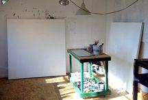 Studio Shots / A peek inside the studios of SF artists