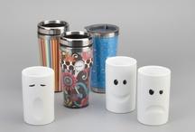 Mugs / Divertidas tazas y mugs para tomarse un cafe bien caliente en la oficina.