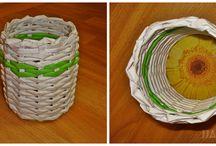 papierové pletenie-moja zaluba / papierové pletenie