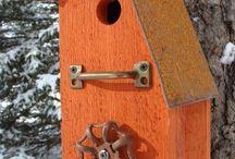 birdhouses rustic / by Penny Herbert