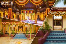 10 exquisite wedding sets at Ramoji Film City / This board shows fairy-tale weddings at Ramoji Film City.