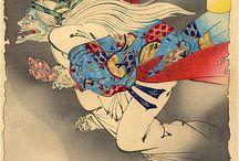 japanes oni / tattoo