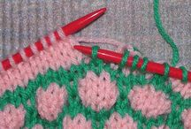 How to.....knits and crochet