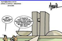 Brasil (Congresso Nacional) / Charges e frases sobre o Congresso Nacional.