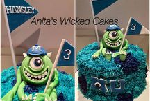 Monster Ink cake