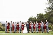 Wedding Grey & Red Ideas