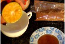 chá e remédios caseiros