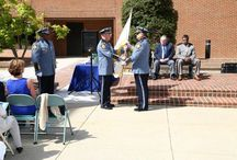 Change of Command Ceremony / After the swearing in ceremony, Chief Middleton formally passed the command to Chief Cardounel in a brief ceremony that occurred in the Henrico County Administration Building courtyard.