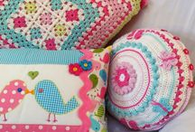 Crochet Cushion Love / Inspiration for crochet cushions.  Something pretty to aspire to and to fill my bed bound days.