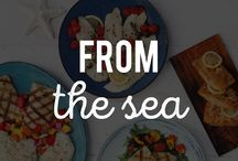 From the Sea / Fresh, great-tasting, and responsibly sourced seafood from Schwan's is the perfect star of your dinner tonight. / by Schwan's Home Service