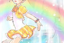 Art with rainbow