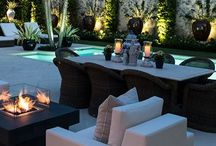 Serene Outdoor Spaces / Beautiful peaceful spaces to enjoy!