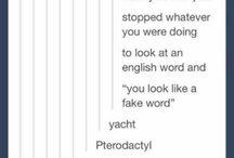 English things