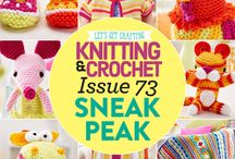 Issue 73 of LGC Knitting & Crochet magazine / Issue 73 of LGC Knitting & Crochet magazine, on sale from 24th July to 27th August 2015, comes with six balls of summery Tutti Frutti yarn just for you, plus gorgeous bonus beads. Your special colour pack also contains a 5mm crochet hook and bamboo knitting needles so you can start our projects straight away.