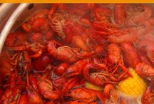 ♡ crawfish boil ♡ Sea food