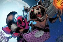 Racoon & Deadpool