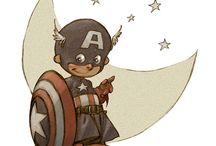 niños super héroes