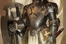 warriors and gladiators