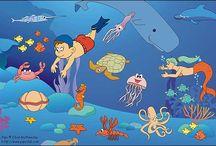 Podmorský svet, ryby