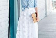 The right to bare ankles / Culottes, crops, mules and midi skirts are stepping it up this spring.