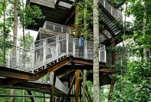 Alternate Living & Design / Alternative Living-treehouses, cliffhouses, houseboats, canal/river craft, pontoon, waterfront & related living
