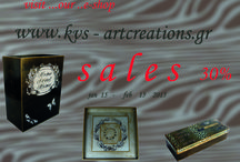 S A L E S / SALES...on our handmade arty objects!!!!