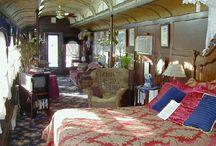 Train car homes