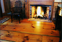 Eastern White Pine Flooring / Discover the beauty of traditional and authentic restoration quality Eastern White Pine flooring hand crafted by Carlisle Wide Plank Floors.