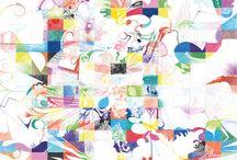 Kunst in Kleur / Beeldende kunst, schilderijen en tekeningen