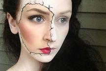 αποκριάτικα μακιγιαζ