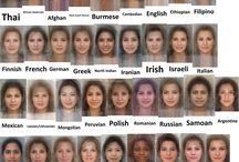 Face of different races